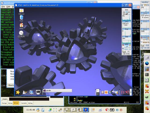 Debian VNC to Mandrake